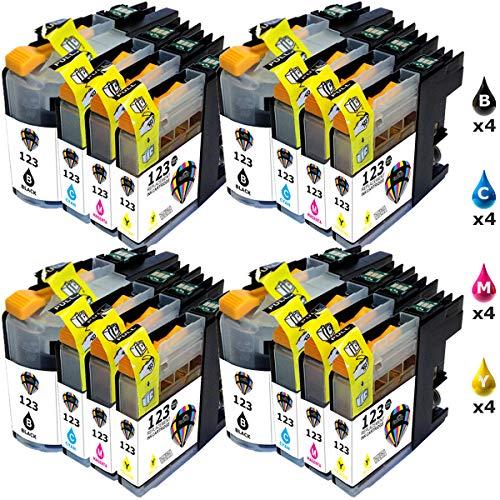 30x alternative Cartucce di inchiostro per Brother lc-1240 color set-Office SERIE PLUS