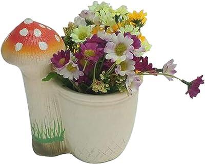 Thedecorshed Mushroom Garden Planter for Garden Deco, Home Decor, Garden Decor,Gifts, Mashroom Planter