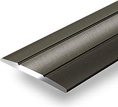 Aluminium overgangsprofiel Firm | C-vorm | zelfklevende afdekstrip voor voegen | breedte 36 mm | geanodiseerd brons | 100 cm