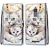 ShinyCase Étui pour ASUS Zenfone 3 Max ZC520TL Coque PU Leather Cuir Anti-Rayures Protection Cover...