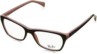 Women's RX5298 Eyeglasses Top Black On Pink 53mm