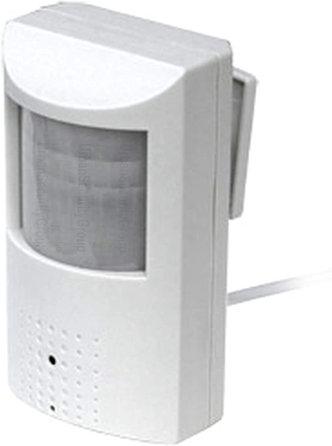 Urban Security Group 5MP HD IP PoE Hidden Spy Covert Security Camera : 2.8mm Wide Angle Lens, 48x 940nm Invisible IR LEDs, IR Cut Filter, PIR Motion Detector Sensor Form Factor