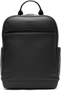 Moleskine - Classic Pro Backpack in Pelle, Zaino Professionale da Ufficio, Zaino Porta Pc per Laptop, iPad, Notebook fino ...