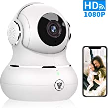 WiFi Home Security Camera - Littlelf Smart 1080P Indoor Wireless Pet Camera for Baby Monitor with Motion Tracking, 2-Way Audio, Night Vision, Cloud Service