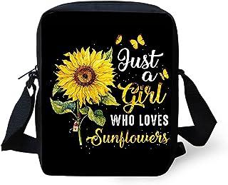 Yiekeluo Small Crossbody Bag for Women Girls with Adjustable Shoulder Straps Lightweight Handbag