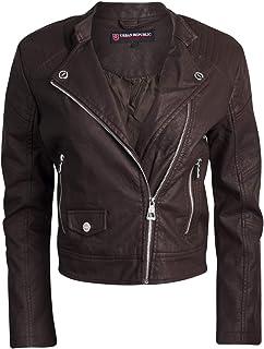 6ebe853c3 Amazon.com: Browns - Leather & Faux Leather / Coats, Jackets & Vests ...