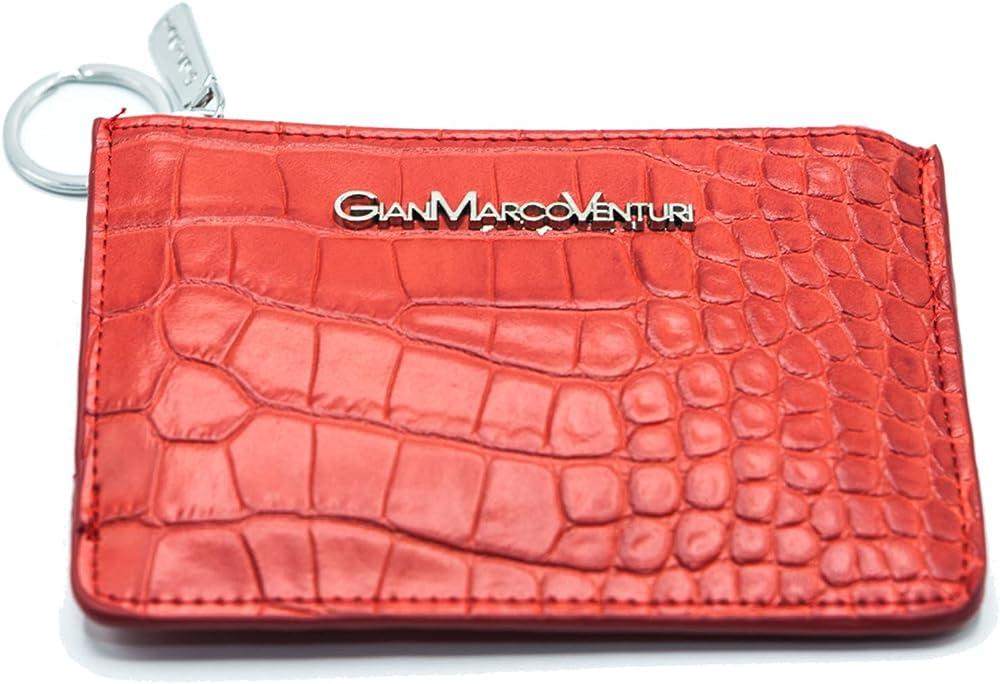 Genérico gmv gianmarco venturi portafogli donna raffinato porta carte di credito in pelle sintetica
