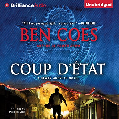Coup d'Etat audiobook cover art