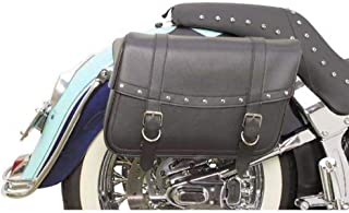 Saddlemen X021-03-041 Large Rivet Highwayman Slant-Style Saddlebag