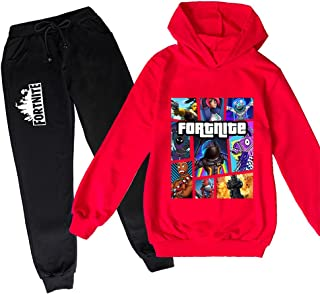 ZKDT Sudadera unisex casual deportiva con capucha para niños y niñas mientras corres, lleva una camiseta de manga larga y ...