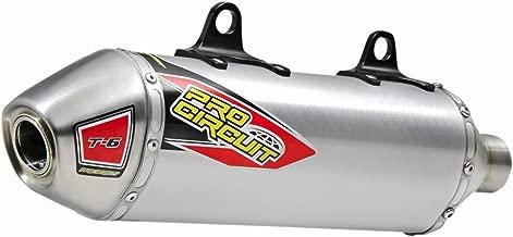 Pro Circuit 17-18 Kawasaki KX250F T-6 Slip-On Exhaust (Stainless Steel)