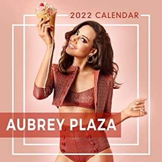 Aubrey Plaza 2022 Calendar: Gifts for Fans, teens and adults with 12-month Monthly Calendar