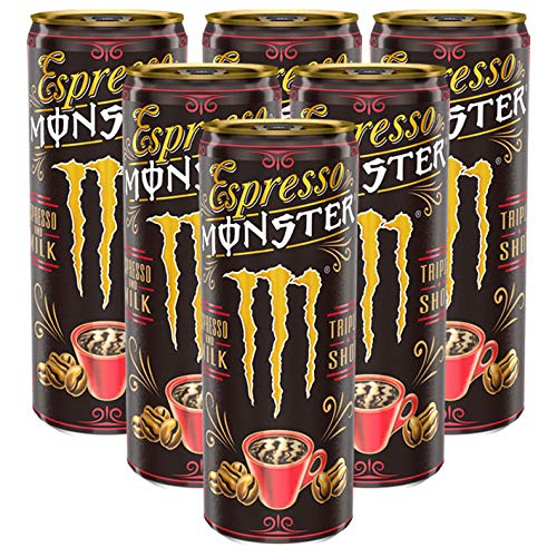 Monster Espresso and Milk, 250ml, 6er Pack