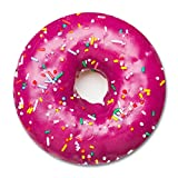 Donut Round Mouse Pad By Smooffly,Purple Donut Printed Mousepad Round Non Slip Rubber Mouse pad Gaming Mouse Pad mat