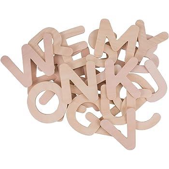 Bigjigs Toys Großbuchstaben-ABC Schablonen zum Zeichnen