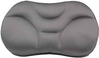 FMJHCW 2020 Nueva Almohada para Dormir versátil Almohada cómoda, Almohadas cervicales ergonómicas con refrigeración Que se Adapta a Cualquier posición para Dormir (Gris Oscuro)