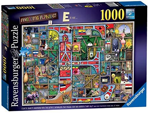Ravensburger Colin Thompson – Awesome Alphabet E 1000 Teile Puzzle für Erwachsene und Kinder ab 12 Jahren