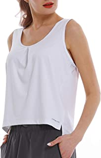 Womens Running Tank Tops Dry Fit Sleeveless Athletic Sports Tops Activewear Yoga Shirts for Workout,Gym,Fitness,Exercise