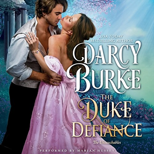 The Duke of Defiance audiobook cover art