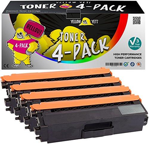 Yellow Yeti TN423 TN-423 Kit 4 Toner compatibili per Brother HL-L8260CDW HL-L8360CDW MFC-L8690CDW MFC-L8900CDW DCP-L8410CDW DCP-L8410CDN [3 Anni di Garanzia]