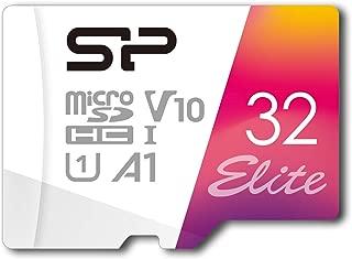 シリコンパワー microSD カード 32GB class10 UHS-1対応 最大読込85MB/s full HD 【Amazon.co.jp限定】 SP032GBSTHBV1V20JA