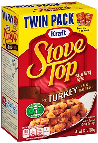 Stove Top Turkey Stuffing Mix (12 oz Boxes, Pack of 2)