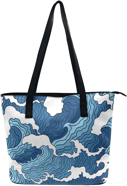 Shoulder Tote Bag Beach Satchel Bags For Women Lady Fashion Tourist Handbag