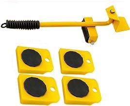 Meubels Transport Lifter 5 Stks/set Mover Lifter Slider Professionele Lading Bearing voor Zware Multi Richting Wiel Bewege...