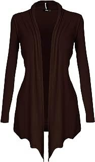 DRSKIN Women's Open - Front Long Sleeve Knit Cardigan (S~5XL)
