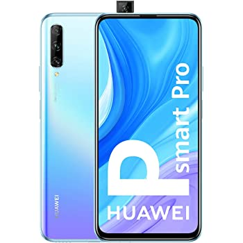 "HUAWEI P Smart Pro - Smartphone con Pantalla Ultra FullView FHD+ de 6.59"" (6GB de RAM + 128GB de ROM, Triple Cámara IA de 48MP, 4000 mAh, Android 9) Color Breathing Crystal"