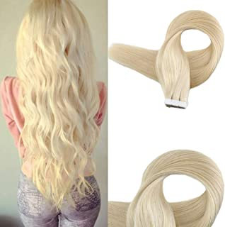 Easyouth Glue In Hair Extensions Blonde 24