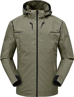 Rdruko Women's Rain Jacket Waterproof Lightweight Hiking Travel Outdoor Sports Casual Jacket