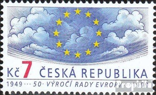 république tchèque mer.-no.: 213 (complète.Edition.) 1999 Conseil de l'europe (Timbres pour Les collectionneurs)