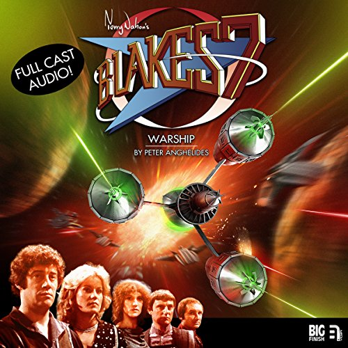 Blake's 7 - Warship audiobook cover art