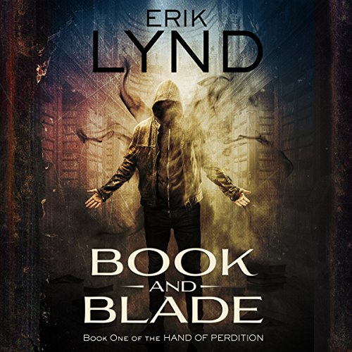 Book and Blade audiobook cover art