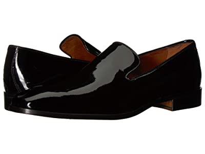 Massimo Matteo Formal Slip-On 18 (Black Patent) Men