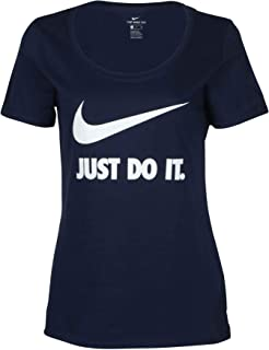 NIKE Women's Scoop Neck T-Shirt Athletic Cut