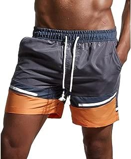 ZARLLE/_Pantalones Ba/ñador para Hombre Cortos de Atletismo y Pantalones Deportivos de Malla de Nylon Pantalones Cortos Fitness Tallas Grandes Ba/ñadores Verano