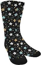 INTERESTPRINT Novelty Crazy Funny Crew Socks for Men and Women
