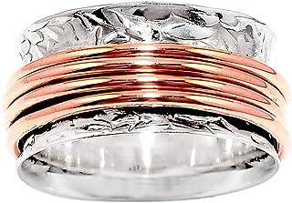 Meditation Spinner Ring 925 Sterling Silver Jewelry DGR1015