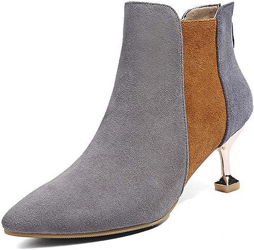 AdeeSu SXE04081, Sandales Compensées Femme - gris gris - gris, 36.5 EU  contre authentique
