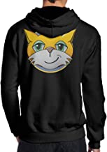 Show Time Men's Game Stamp Cat Classic Hoodies Black