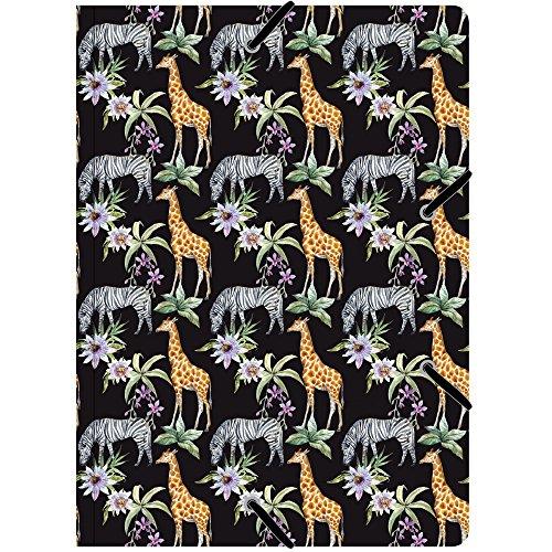 Cedon verzamelmap de luxe patroon giraffe