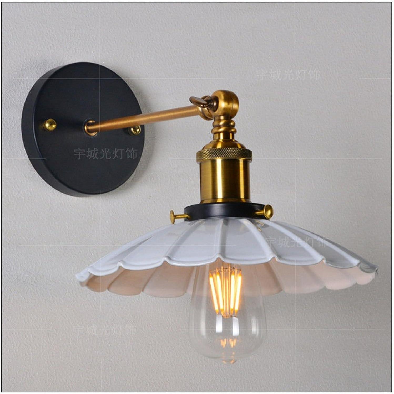 StiefelU LED Retro Eisen Wandleuchte Schlafzimmer Nachttischlampe Restaurant in einem Bekleidungsgeschft Snapshot Spiegel vorne Lampen Lampen dekoriert, schwarz