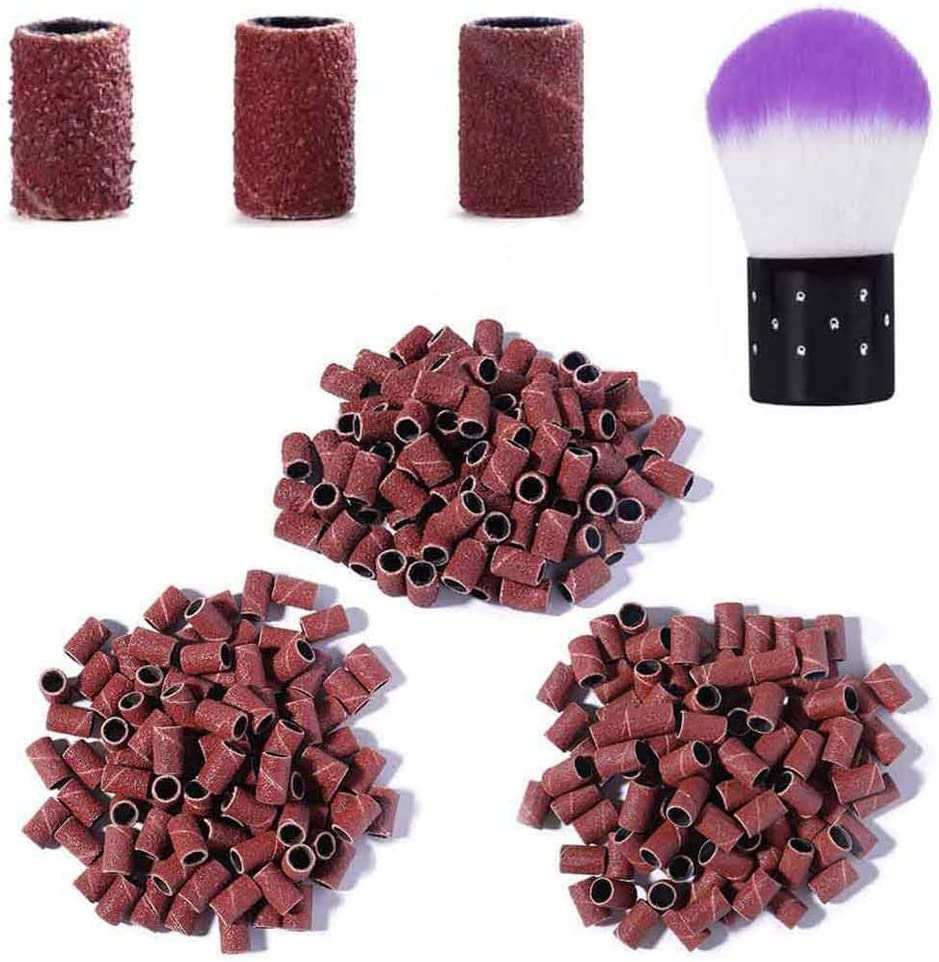 Kalolary Phoenix Mall 300Pcs Sanding Bands for Nail #80#120# Bits Size Max 69% OFF Drill