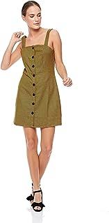 Trendyol A Line Dress for Women - Brown, Size XS