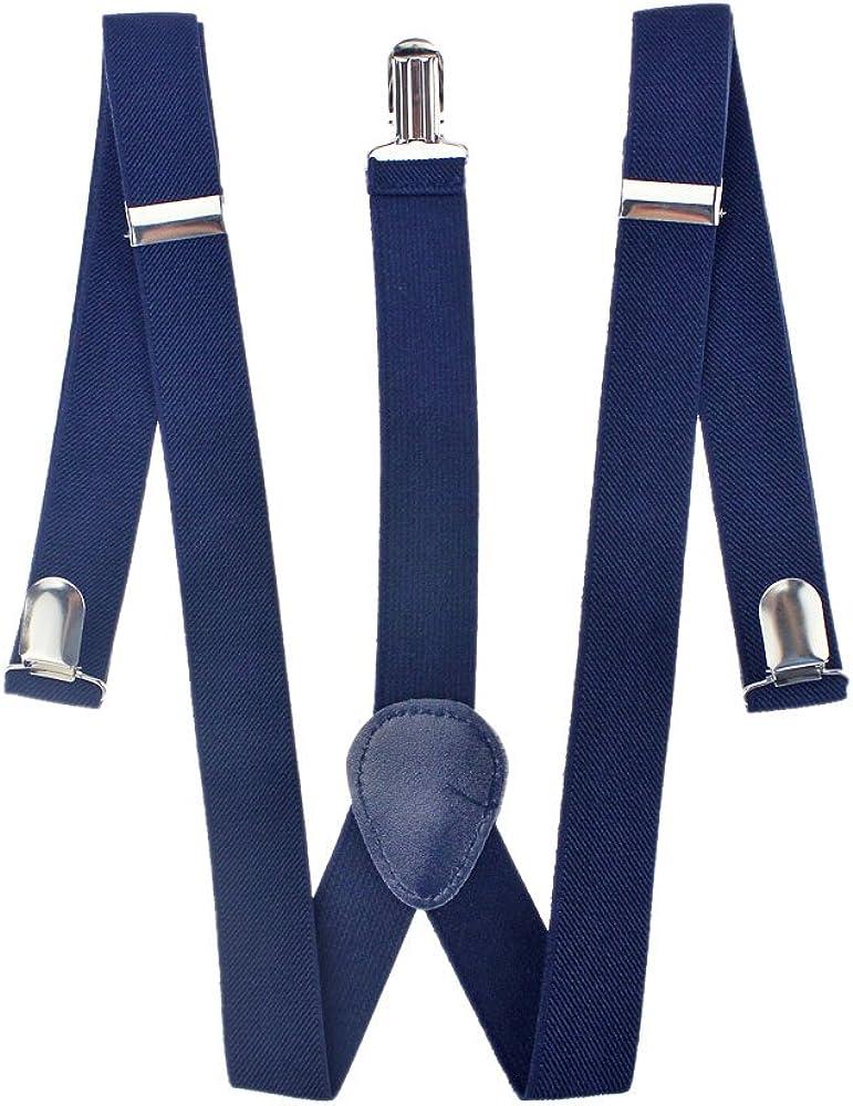 Mens Designer Blue Suspenders