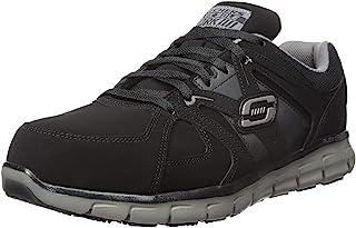حذاء سينرجي ايكرون للرجال بمقدمة قدم من خليط معدني لحماية القدم مناسب للعمل من سكيتشرز