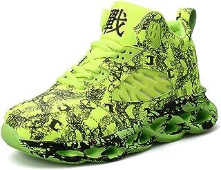 Scarpe da Basket da Uomo Scarpe da Ginnastica Traspiranti con Piattaforma Leggera Sneaker Casual da Corsa Antiscivolo con ...