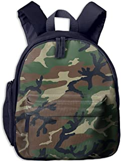 Pinta Camouflage Cub Cool School Book Bag Backpacks for Girl's Boy's